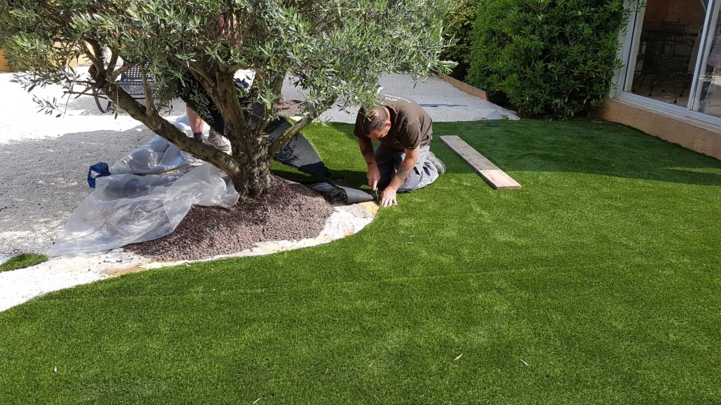 pelouse sur mesure