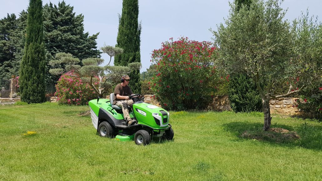 tonte pelouse